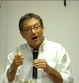 """הרצאה של רון פונדק ז""""ל – עקרונות הסכסוך הישראלי פלסטיני"""